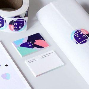 label sticker printing London