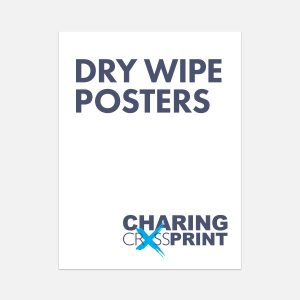 dry wipe posters