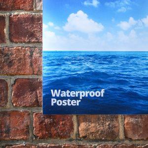 outdoor waterproof poster printing london