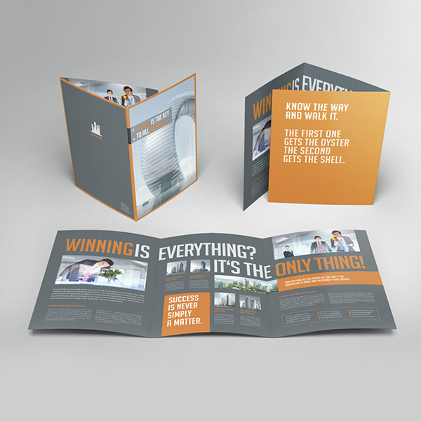 A4 6 page leaflet printing