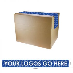 custom branded personalised packaging tape